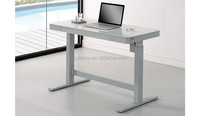 Electric Height Adjustable Standing Desk With A Touch Glass Top