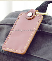 Hot New Products for 2015 Fashion Adverting Leather Luggage Tag Bag Parts