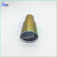 Double layer insulated travel cup, switch push sheet cover, heat preservation and heat preservation travel cup