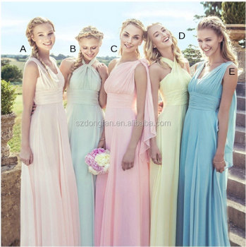 2016 New Style weddings bridesmaid dresses Birthday Party Dress Evening Party Dress China factory custom colors