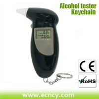 high accuracy lcd display digital breath alcohol tester