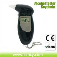 high accuracy lcd display digital breath alcohol tester