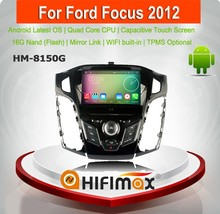 HIFIMAX Android 5.1.1 multimedia for ford focus 2012 - 2015 for ford focus mk2 for ford focus mk3 car audio system with gps