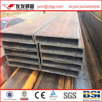 steel special specifications of square pipe by LGJ