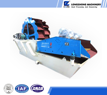 Professional industrial sand cleaning and dewatering machine from China