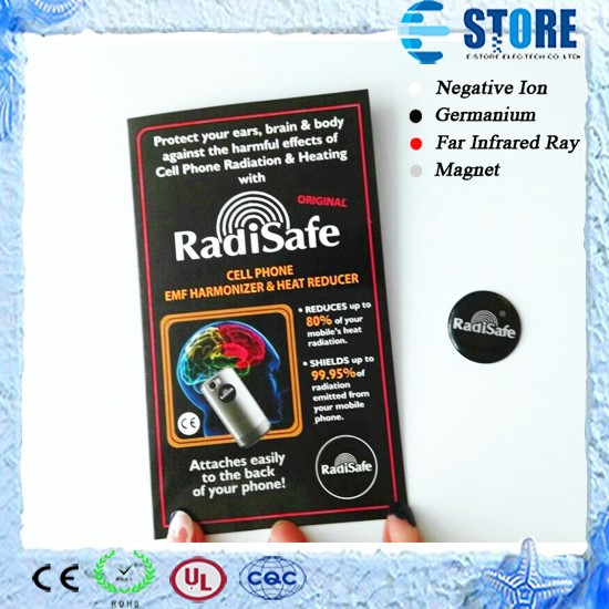 2015 Round Radisafe Anti Radiation Mobile Chip