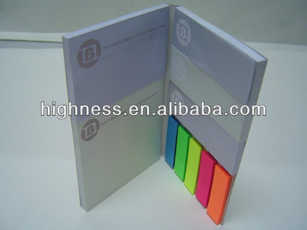 sticky notebook/sticky note holders /Sticky Flag Sets/ Maxi Smart Memo Holder