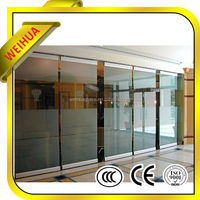 Partition/ railing/ balcony clear 10mm thick toughened glass
