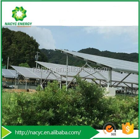 Large Scale Solar Power System, Mounting Structure for Solar Panel