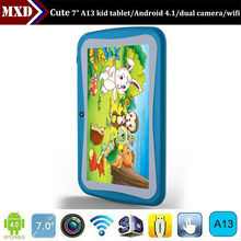 Best selling kids tablet pc allwinner a13 dual camera WIFI 512MB/4GB android tablet pc