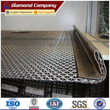 65MN quarry sand gravel crusher hooked vibrating sieve screen mesh for mining