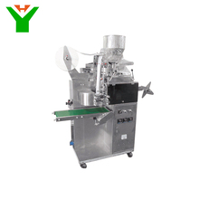 DXDK-100ND green tea bag packaging machine with thread and label
