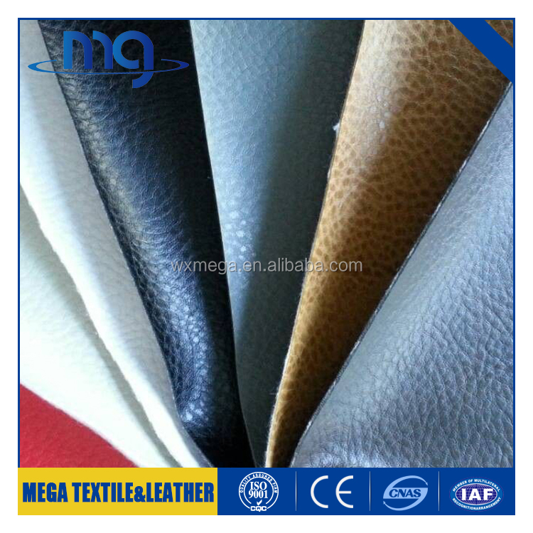 Wholesale sofa leather upholstery fabric pu Factory price