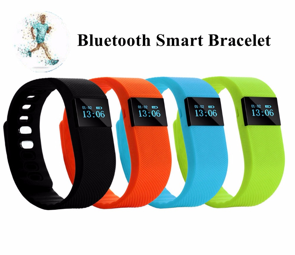 Smart Bluetooth 4.0 Sport Bracelet Wristband TW 64 Smart with Health Monitor
