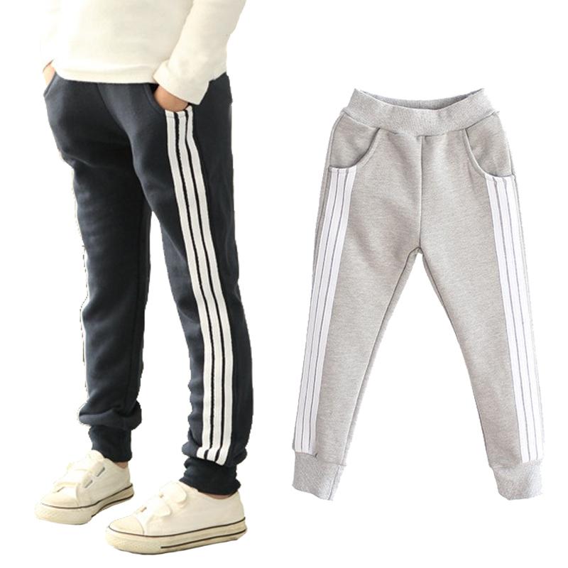 Buy Children Boy Long Casual Pants Boy Girl Cotton Sports Trousers