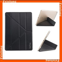 Auto Adsorption Sleep wake up PU Leather Case For iPad air Leather Case