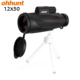 Ohhunt 12x50 Waterproof Non-Slip Design Hunting Powerful Monocular Telescopes for Phone