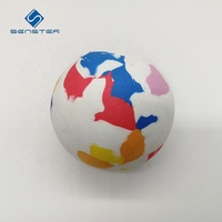 High Density Mixed Color Air Cannon Soft Foam Balls Shooter Gun Game