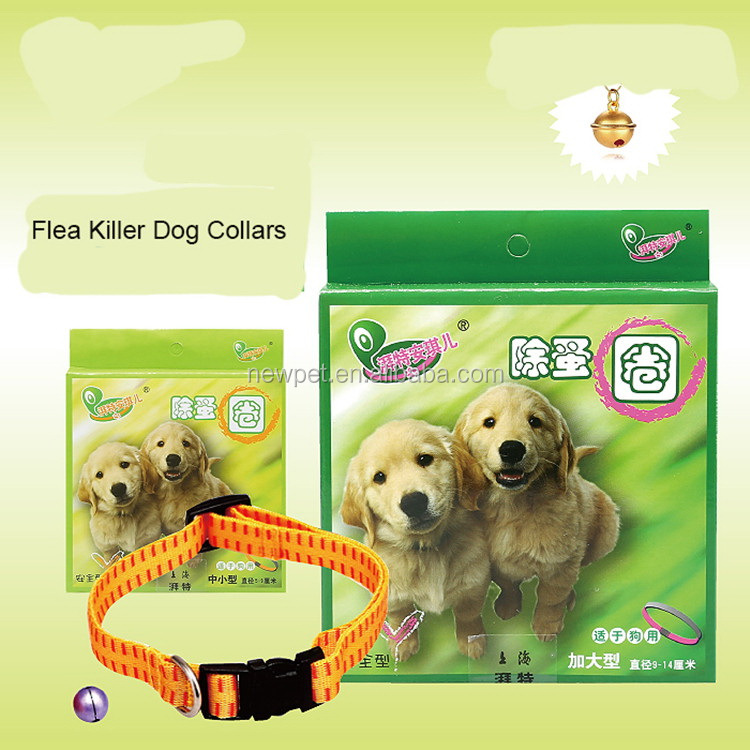 Fine quality new arrival high effective flea killer dog collar makers