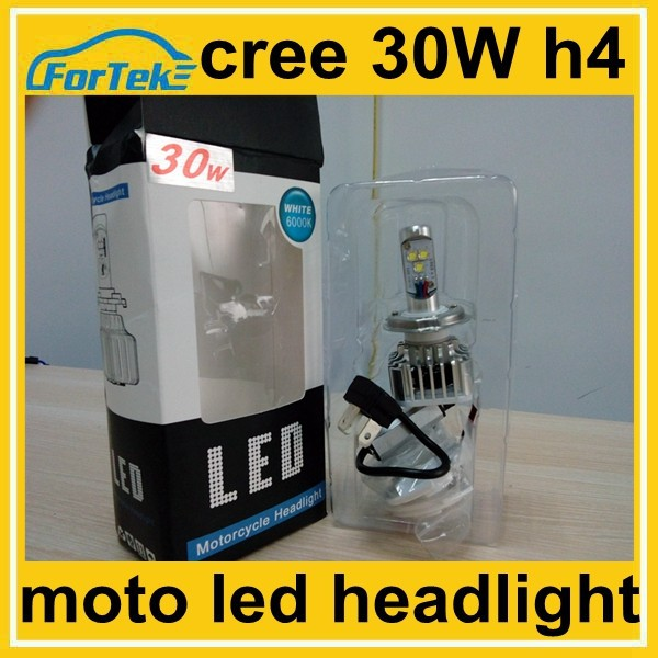 3600lm 40w cree led light for motorcycle head lamp