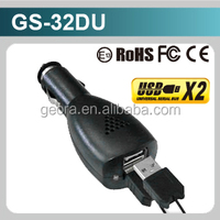 5V4.8A Dual USB Car mobile phone battery charger Adapter for electric car