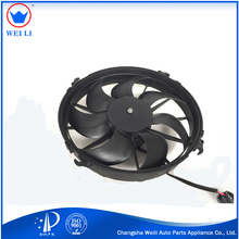 Factory direct sale high quality auto radiator electric fan 24 volt dc motor condenser fan for bus/truck