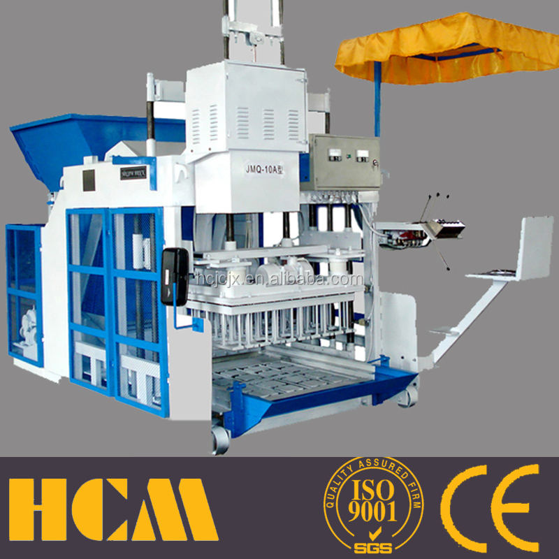 hydraulic transmission concrete bricks making plantand yellow concrete brickand slice bricks