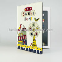 Hot selling leather case for ipad