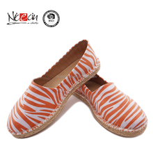Wholesale import Classic canvas women Eva outsole casual shoe