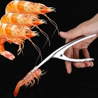 2018 Creative And Practical Stainless Steel Kitchen Shrimp Peeler