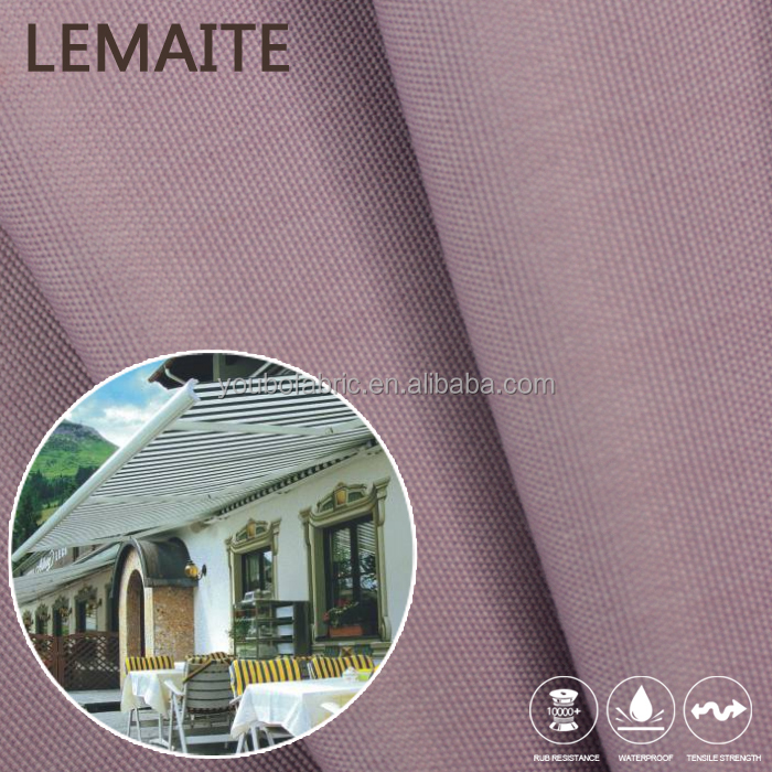 Awning Fabric Water Repellent Durable Factory Wholesale 600D Polyester Fabric with PVC Backing
