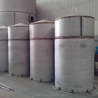 Small conical oil tank