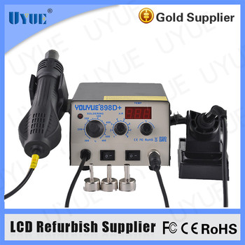 Factory Wholesale Price 2 In 1 Hot Air Soldering Rework Station for Mobile Phone Repair