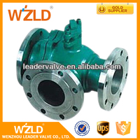 WZLD Professional Yueqing Factory SS304 Manual Operation Electric Floating Gas Ball Valve