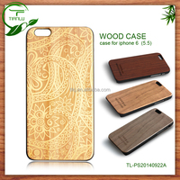 Made in China Alibaba Wholesale 2d&3d phone case for iPhone 6 wood case sublimation color printing