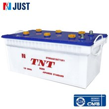 12v 200ah car dry batteries