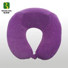Custom U Shape Memory Foam Neck Pillow With Headrest