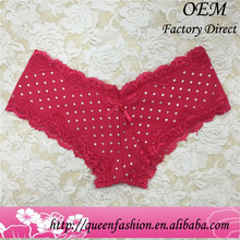 Best price red color fashion panties girls sexy tangas
