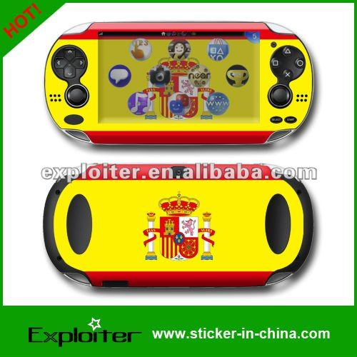 Skin sticker for ps vita slim console vinyl materials