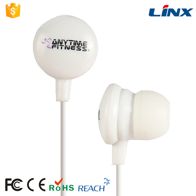 Promotional cheap MP3 players earbuds with custom logo
