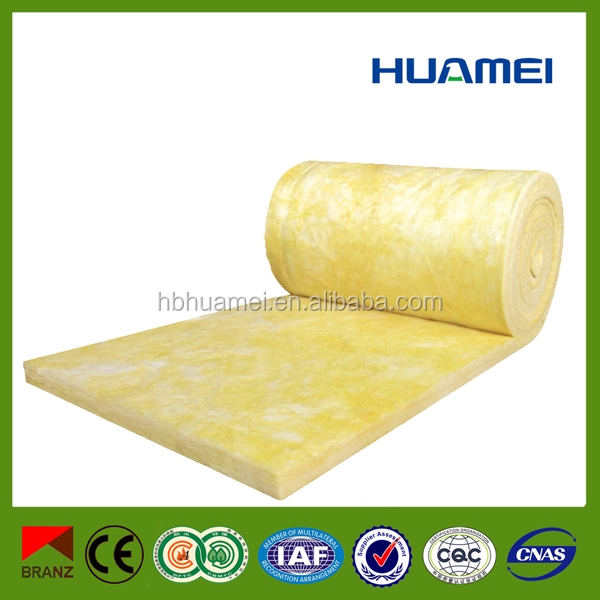 High quality Insulation products glass wool blanket