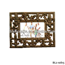cast iron photo frame