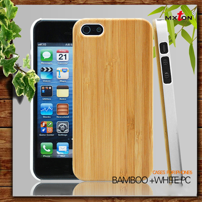 Super Quality Wood Replacement Parts For Iphone 5 Back Cover Housing