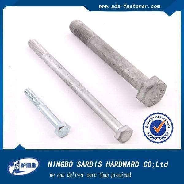 Made in China hardware manufacturing conical twin screw extruder hex head bolt