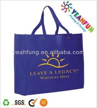 Low price flower reusable shopping bag