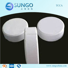 Trichloroisocyanuric Acid TCCA 90% chlorine tablets for water treatment