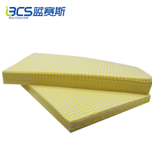 Super Absorbent wood pulp & polyester reusable nonwoven kitchen towel