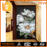 natural well polished beautiful decorative wall mural artist