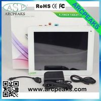 RK3188 10 inch mid tablet pc front and rear camera