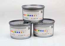High pigmentation and good curing speed UV CN offset pigment ink